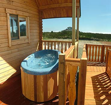 Hot Tub on the Deck
