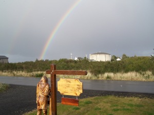 Rainbow in Ocean Shores